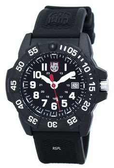 5967bb46c33b Luminox Navy Seal 3500 Series Quartz XS.3501 Men s Watch Watch 2