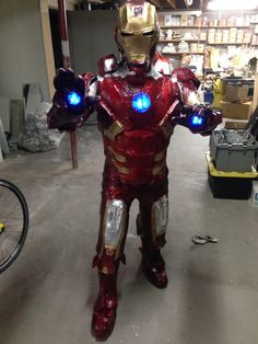 Ironman Mark 7 Costume
