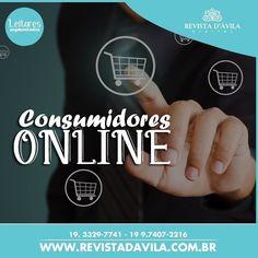 Os consumidores da sua marca estão Online você já sabe como surpreende-los para se tornar primeira opção na hora da decisão de compra? . Entre em contato conosco e conheça nossos serviços e vantagens: (19) 3329-7741 / 9.7407-2216 ou contato@revistadavila.com.br