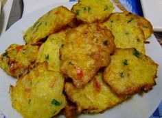 Grupo vegan português: Pataniscas de legumes