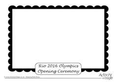 Rio 2016 Olympic Games Opening Ceremony Picture Frame