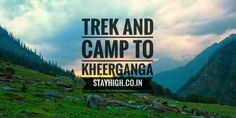 Who doesn't loves to travel. Come and enjoy treking and camping with us www.stayhigh.co.in rates starting from INR 9,999/- Stay High, Trek, Camping, Feelings, Nature, Campsite, Naturaleza, Nature Illustration, Off Grid