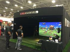 CEDIA 2016 - TruGolf Indoor Golf Simulator featuring Demolition Driving Range