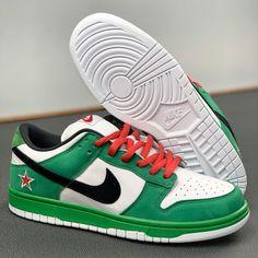 Nike Dunks, Jordan 1, Red Green, Sneakers Nike, Outfit, Shoes, Fashion, Heineken, Nike Tennis