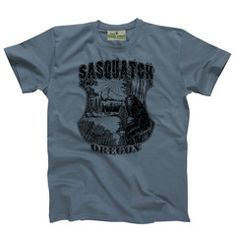 34cad1ad Oregon Apparel | Sasquatch T-Shirts | Oregon Gifts | Little Bay Root