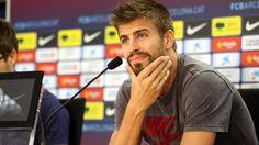 Piqué press conference 27-08-12