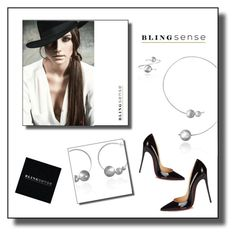 """""""Blingsense"""" by tjuli-interior ❤ liked on Polyvore featuring Christian Louboutin, jewelry and blingsense"""