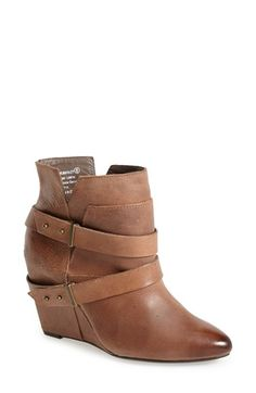 Naughty Monkey 'Angle Tangle' Pointy Toe Wedge Bootie (Women) available at #Nordstrom