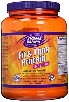 Now Foods Fit and Tone Protein Berry 18 Pound ** To view further for this item, visit the image link.
