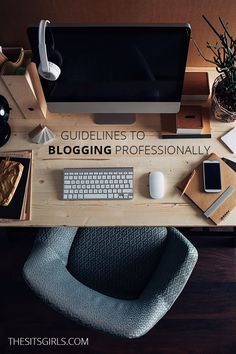 Learn how to become a professional blogger with these guidelines to blogging professionally. You need these things to take your blog from hobby to business.