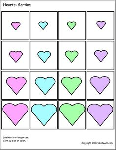 Sorting and attibutes activities | teaching | Pinterest | Sorting ...