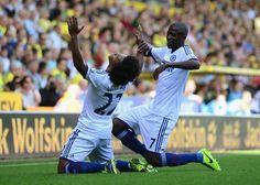 Willian gol Norwich (Foto: Getty Images)