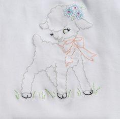 Hang to Dry Applique - Vintage Lamb, $3.99 (http://www.hangtodryapplique.com/vintage-lamb/)