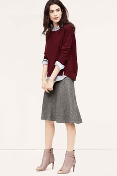 What Type Of Skirt Should I Wear On A Windy Day? #refinery29 http://www.refinery29.com/best-skirts#slide4