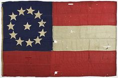 CONFEDERATE 12 STAR FIRST NATIONAL FLAG - from Alexander Historical Auctions