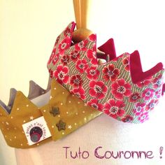 Tuto Couronne, crown, couture, sew, pattern