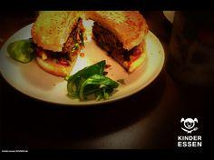 Kinder essen - Reciepe for children's burger