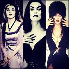 LILY LILLY MUNSTER VAMP CLASSIC HORROR FILM B-MOVIE GOTH PUNK SEW ON BLACK PATCH