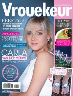 16 Desember 2016 - Carla van der Merwe Van, Digital, Cover, Latest Issue, Favorite Recipes, Products, Vans, Gadget, Vans Outfit