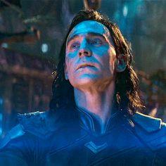 Tom Hiddleston in Avenger: Infinity War. Gif-set: http://maryxglz.tumblr.com/post/168020230637/loki-avengers-infinity-war-2018-x