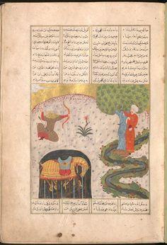 Firdausī: Šāhnāma - BSB Cod.pers. 8. - Iran, 1497 [902 h.] 21 Bayerische Staatsbibliothek
