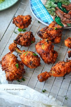 A delicious fried chicken which is usually served during Hyderabadi weddings. I have never been to a Hyderabadi wedding but heard a lot about the unique, royal dishes they serve during the fu… Indian Chicken Recipes, Fried Chicken Recipes, Veg Recipes, Indian Food Recipes, Cooking Recipes, Capsicum Recipes, Andhra Recipes, Vegetarian Recipes, Chicken Recepies