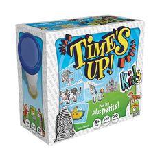 Time's Up ! Kids est le Time's Up! des petits. Plus besoin de savoir lire : toutes les cartes sont illustrées ! En 2 manches, faites deviner un maximum d'images. Décrivez d'abord les images... Puis mimez-les !