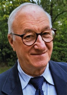 """Albert Bandura is best known for his famous """"Bobo Doll"""" experiment, but is also noted for his social learning theory and concept of self-efficacy."""