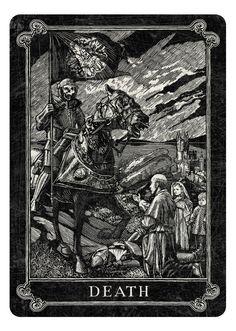Arcana Playing Cards by Chris Ovdiyenko - Kickstarter. Arcana Death card