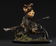 Creature Spot - The Spot for Creature Art, Artists and Fans - grimlaw the dragon ogre
