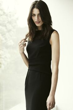 """Draycott Dress.  This is your """"go-to"""" LBD.  A classic and elegant cut that looks perfectly polished with a blazer and seriously sleek with a pair of stilettos."""