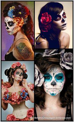 maquiagem Halloween - make up Halloween