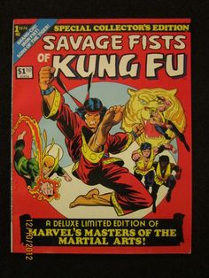 SAVAGE FISTS OF KUNG FU Treasury-size Special Collectors Ed. from Marvel! (8.5) http://r.ebay.com/wQp6Ij