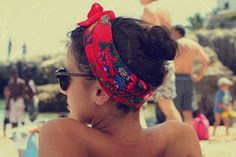 Eastern European head scarves. :) This is my summer search!