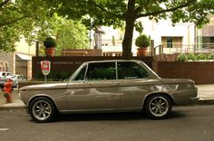 OLD PARKED CARS.: 1966 BMW 1600.