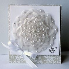 View Idea Gallery Projects   Spellbinders - Love Card