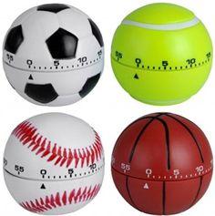 Egg Timer, Kitchen Timers, Soccer Ball, Shake, Balls, Sports, Collection, Modern Bathrooms, Round Round
