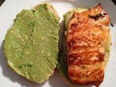 Lachs-Zitronene-Tomaten-Sandwiches  Freunde am Kochen Avocado Toast, Sandwiches, Breakfast, Food, Salmon, Tomatoes, Friends, Kochen, Hoods