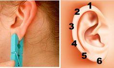 Placez une pince à linge sur votre oreille 5 secondes! Son effet incroyable vous surprendra!