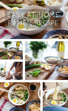 """Gourmet ramen is a hot food trend in restaurants all over. We'll show you how to """"soup-up"""" this college dorm room staple into an upscale Asian comfort meal."""