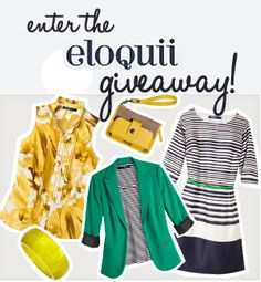 Win an eloquii gift card from PLUS Model Magazine.