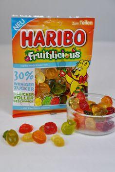 Die neuen Fruitilicious von HARIBO garantieren Freude beim Naschen und einen vollen Geschmack – bei 30% weniger Zucker.