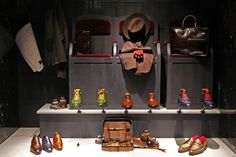 """BERLUTI,New York,""""A shoe has so much more to offer than just to walk"""", pinned by Ton van der Veer"""