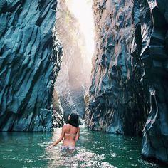 """1 ticket to Alcantara Gorge, Sicily please"""