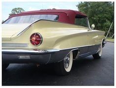 """1960 Buick Electra 225 Convertible.  My first """"working"""" car.  Bought it used and made it new:)  Loved her.  Mine was light blue."""