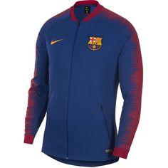 Nike Men's FC Barcelona Jacket Deep Royal Blue/University Gold