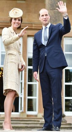 14 June 2016 William and Kate attend the Secretary of State for Northern Ireland's Garden Party at Hillsborough Castle in Belfast