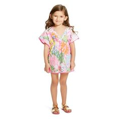 NWT Lilly Pulitzer Target Girls My Fans Pompom Shorts /& Embroidered Top Lot 18M