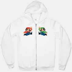 The Brothers of Mario. If only there were an angry gorilla on the back.
