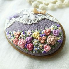 Hand Crafts, My Sewing Room, Textile Art, Needlework, Textiles, Embroidery, Crochet, Summer, Pendants